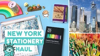 ��NYC Stationery Haul ��Markers, Sketchbooks & more! ~ KiraKiraDoodles