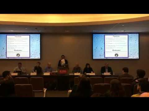 NC Water Resources Panel: Issues, Discussions, Solutions