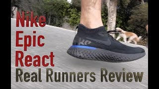 Nike Epic React: Real Runner's Review