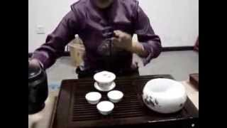 ASMR - Chinese Tea Ceremony (Real)