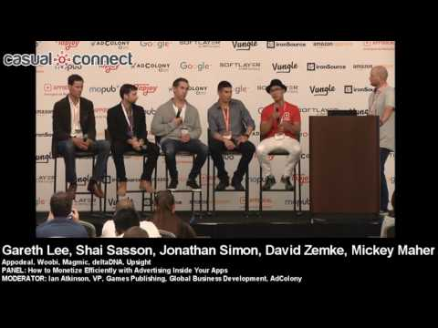 How to Monetize Efficiently with Advertising Inside Your Apps | PANEL