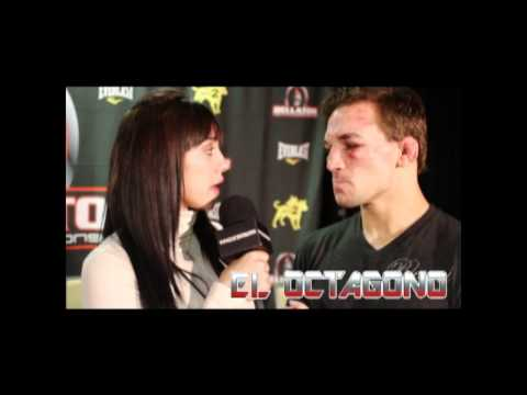 Bellator 58 - Post Fight Interview with Michael Chandler