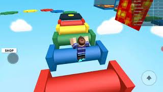 I play Roblox in a parkour