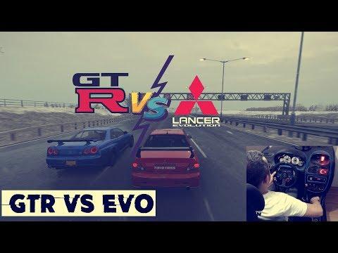 Skyline GTR vs Mitsubishi Lancer Evo / Forza Horizon 4 thumbnail