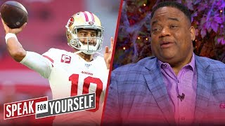 49ers should be thanking me for inspiring Jimmy G to ball out — Whitlock | NFL | SPEAK FOR YOURSELF