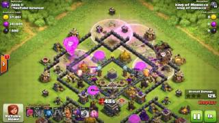 BEST TH9 FARMING BASE 2017 + PROOF!   NEW BASE W  THE BOAT! Epic CoC Update Coming   Clash of Cs