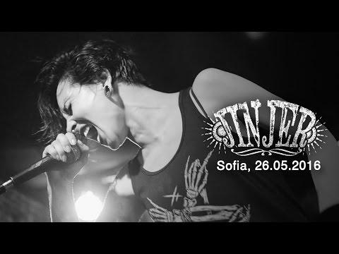 JINJER - Live in Sofia / Bulgaria, 26.05.2016