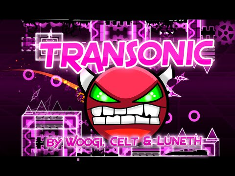 Transonic 100% GAMEPLAY Online (Woogi1411, Gelt & Luneth) MEDIUM-HARD DEMON