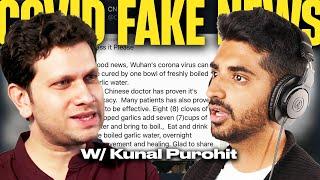 #34 Kunal Purohit on COVID-19 Fake News In India   The Vinamre Kasanaa Show