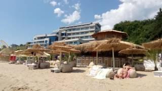 курорт Обзор. Болгария. Пляж. Bar Cuba.И три русалки