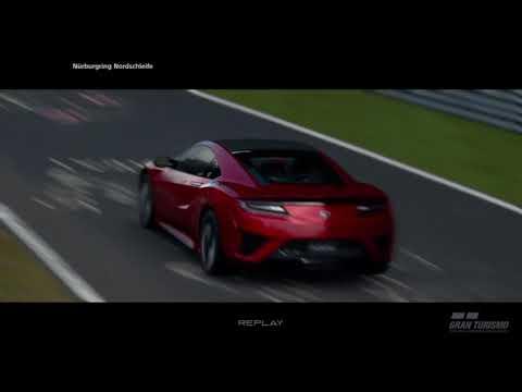 Honda NSX - Nurburgring Lap Time (Gran Turismo Sport)