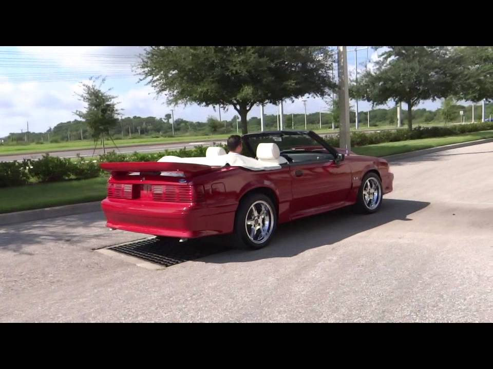 1989 Ford Mustang Gt Convertible Tampa Showroom 162