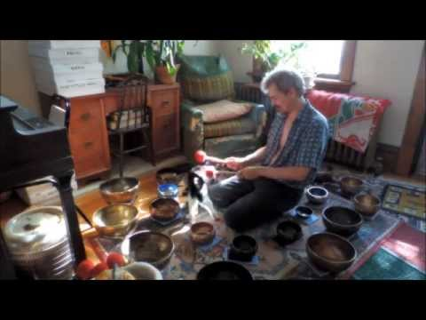 Silly Cat and Singing Bowls