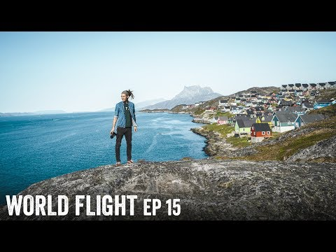 GREENLAND IS FASCINATING! reupload - World Flight Episode 15