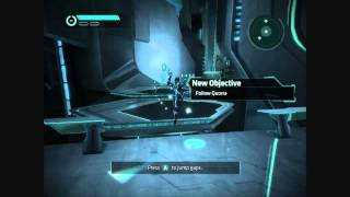 Tron Evolution PC GT220 gameplay highest settings(1280x720)