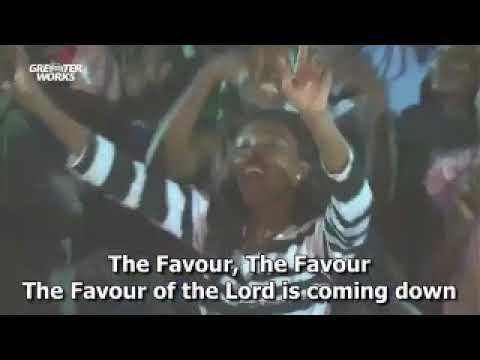 The Glory of the Lord is coming down