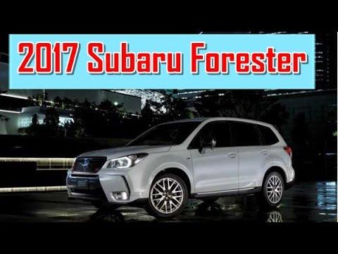 2017 Subaru Forester Redesign Interior And Exterior Youtube