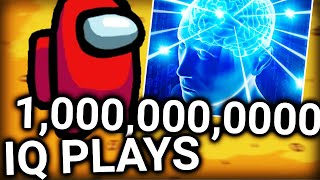 1000 Thousand Million IQ plays in Among Us