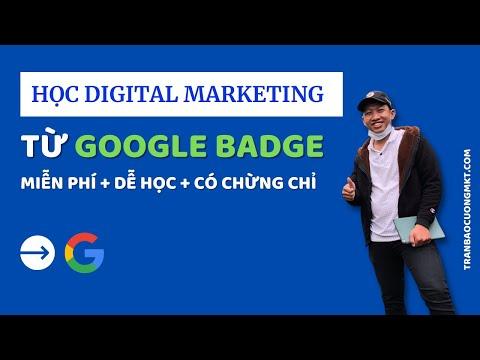 Học Digital marketing với Google Digital Garage (Có CERT sau khi học từ Google) | Có đáp án bài tập