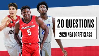 20 Questions with the 2020 NBA Draft Prospects