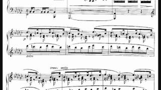 Fauré, Nocturne n. 1 en E flat minor, op. 33 n. 1