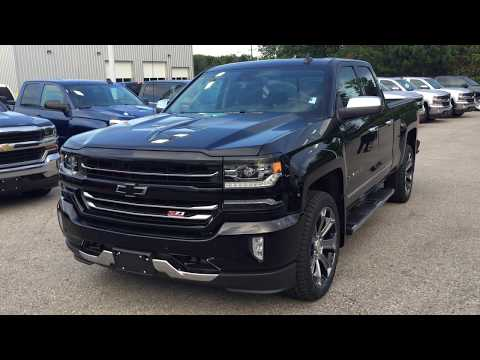 2018 Chevrolet Silverado 1500 LTZ 4WD Black Roy Nichols Motors Courtice ON