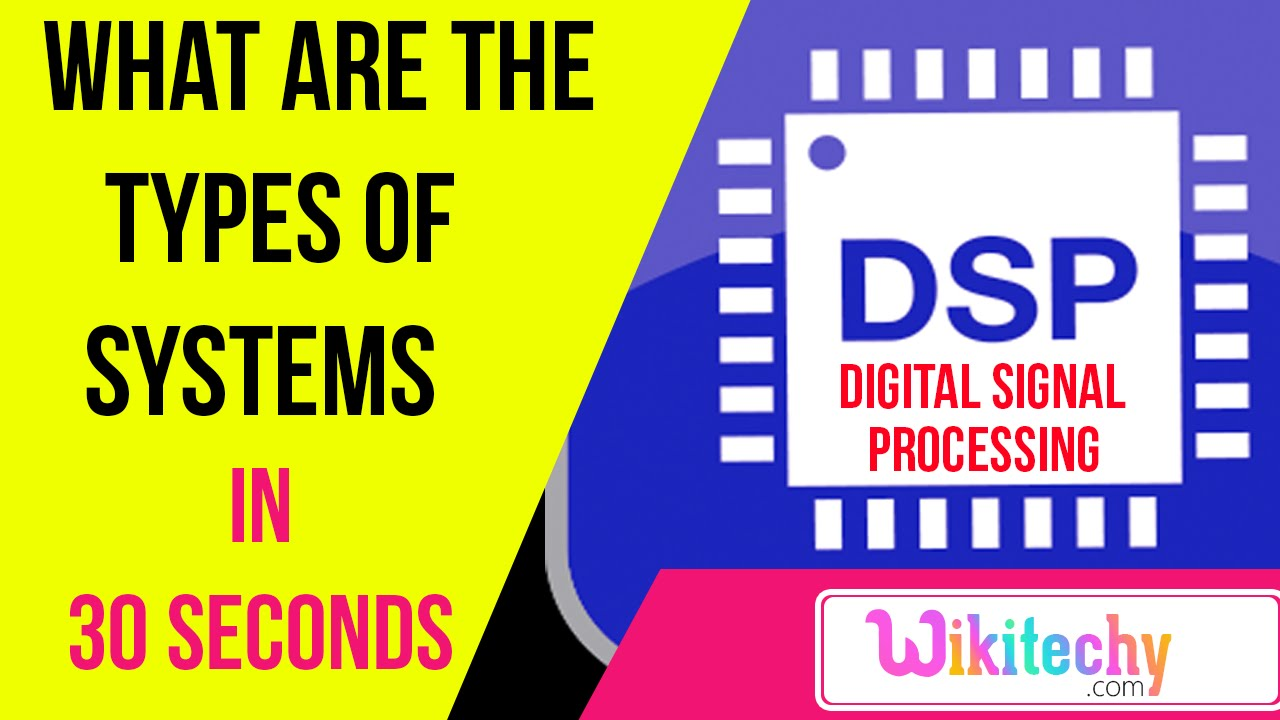what are the types of systems dsp interview questions and what are the types of systems dsp interview questions and answers ece interview questions