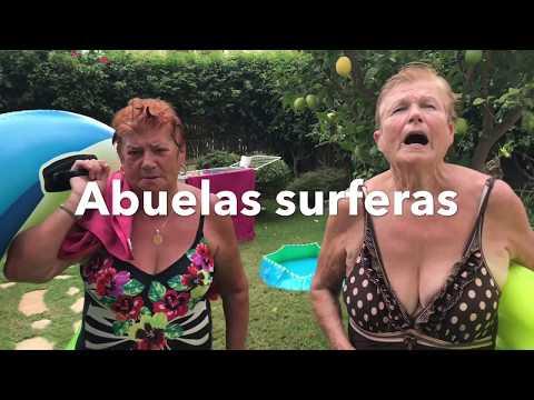 Abuelas youtubers y surferas