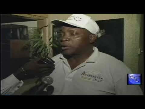 """G.B.T.V. CultureShare ARCHIVES 2000: MIGHTY SPARROW  """"Speaks with the press in GHANA""""  (HD)"""