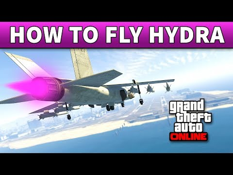 GTA 5 How To Fly A Hydra | 100% DETAILED GUIDE ON HOW TO FLY HYDRA IN GTA 5 ONLINE (Like A Pro)