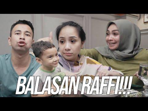 PUSH UP!!RAFFI BALES NGERJAIN MAMA RIETA PAS SAHUR BARENG