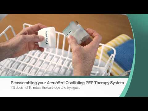 Aerobika* OPEP Device - Cleaning Instructions - Trudell Medical International