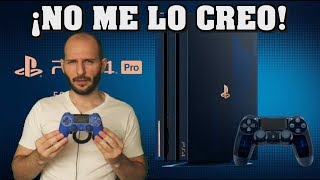 ¡PS4 PRO 500 MILLION EDITION LE FALTA LO MÁS IMPORTANTE! - Sasel - Mando - Lucecitas - español