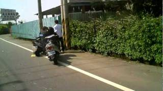 Sport Bike VS Cruiser (failed video)