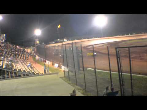 12 year old jordan fowler golden isles speedway heat race 6-13-15