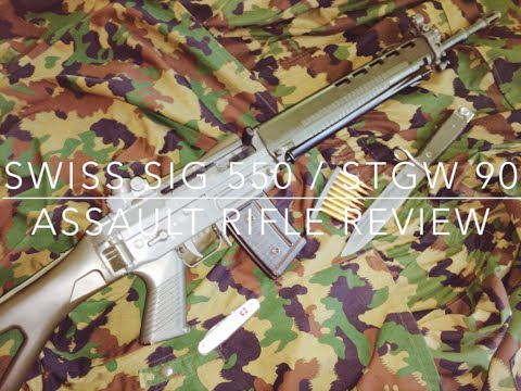 Swiss SIG 550 / Stgw 90 Assault Rifle Review -  Swiss Precision Kalashnikov!