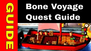 OSRS Bone Voyage Quest Guide for Ironman | Quick guide + full sail portion
