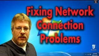 Fixing Wired and Wireless Internet Connection Problems(Fix Network Connection Problems - Finding & Correcting Device Driver Issues. If your computer is reporting that you do not have any internet access connection ..., 2013-10-18T19:00:02.000Z)