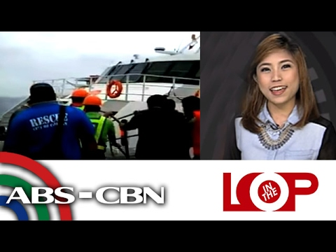 In the loop: Ferry takes on water off Calapan