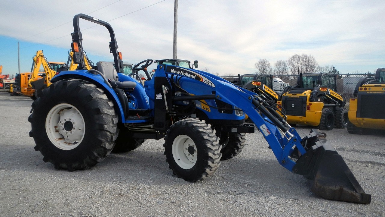 2007 New Holland T2410 4WD Tractor Loader at Martin Implement