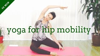 Yoga for hip mobility