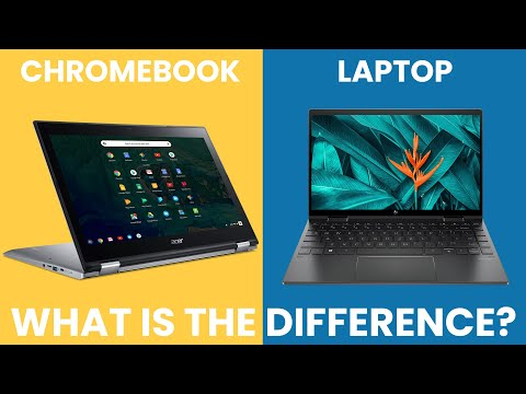 Chromebook vs Laptop - What Is The Difference? [Simple]