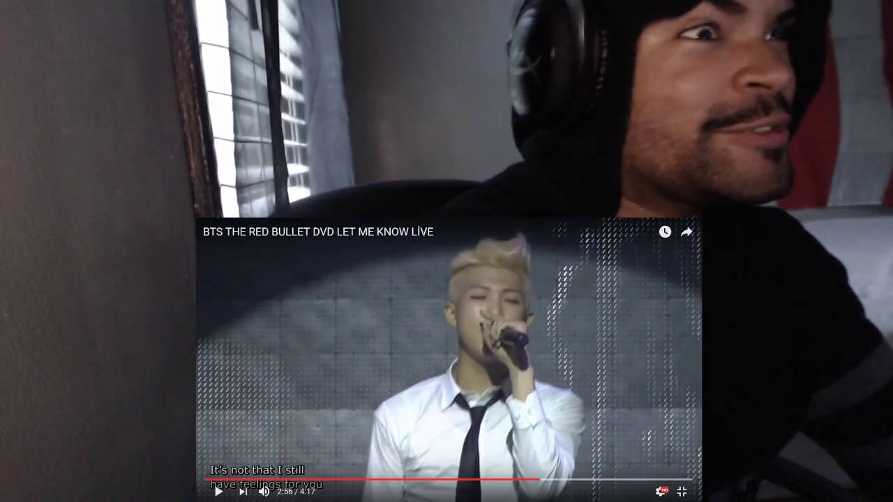 BTS THE RED BULLET DVD LET ME KNOW LİVE REACTION!!!