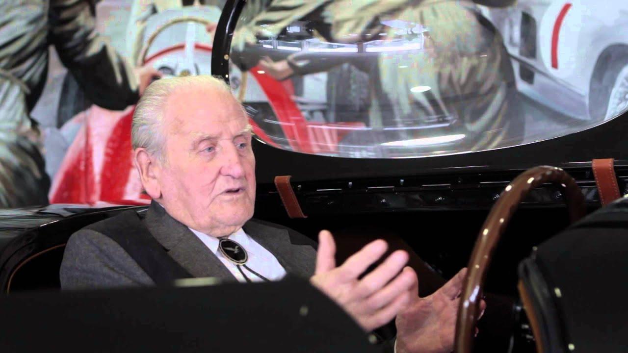 Norman Dewis: 1953 Jebbeke World Record (Short Interview)