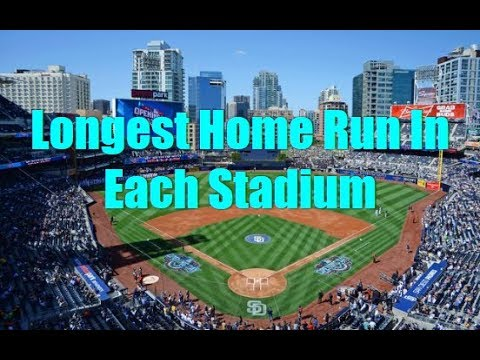 Longest Home Runs 2020.Longest Home Run In Each Stadium Statcast Era