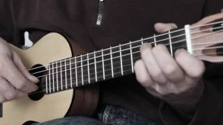 Five classic German Folk Songs - Yamaha Guitalele GL1