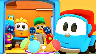 Leo the Truck Full Episodes: New Car Cartoons for Toddlers in English