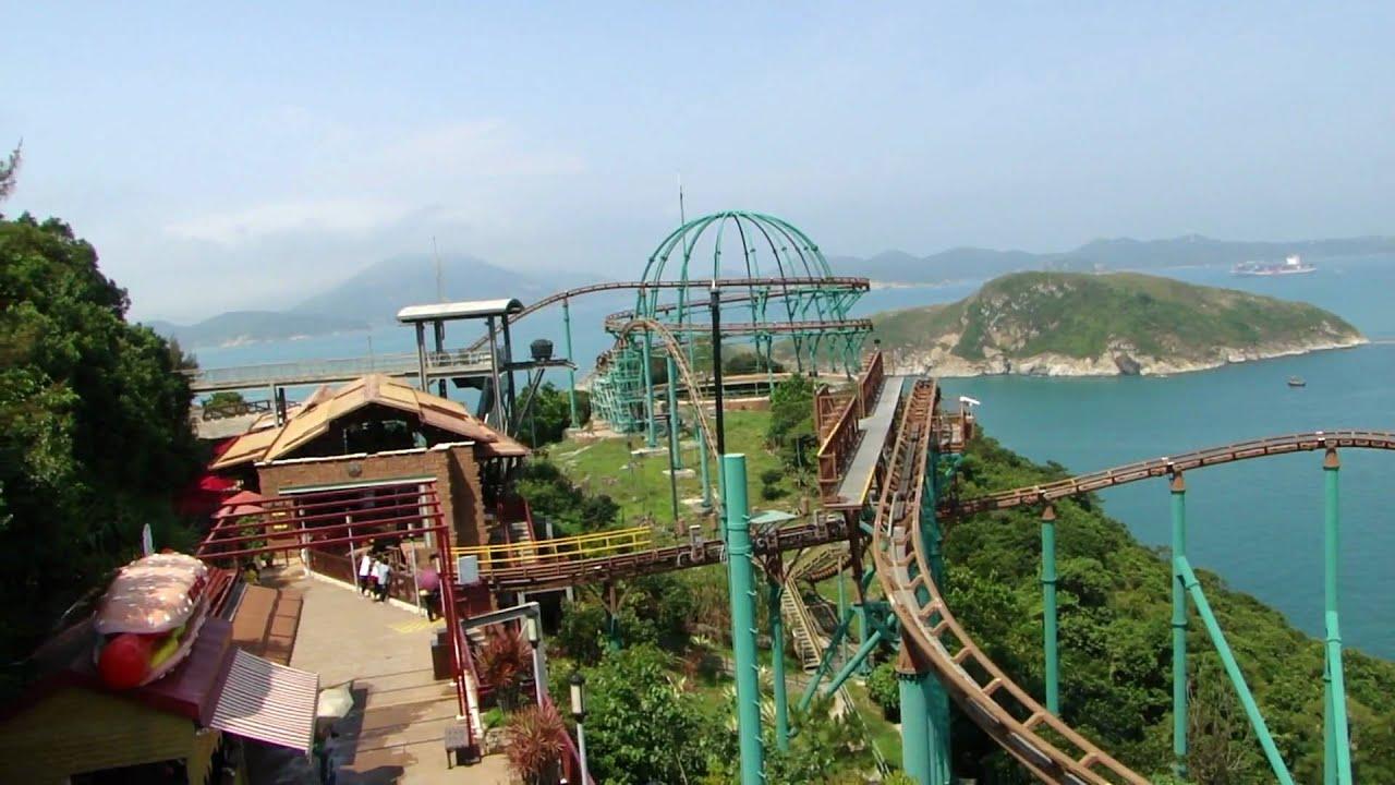 香港海洋公園 - 雲霄飛車 - YouTube