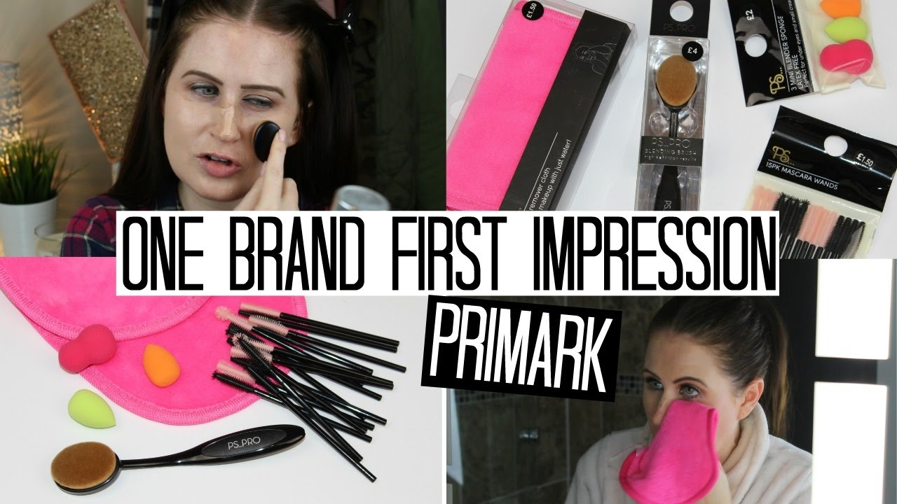 8d9cbd12243 Primark PS Makeup Tools and Dupes - One Brand First Impression | Pink  Paradise Beauty