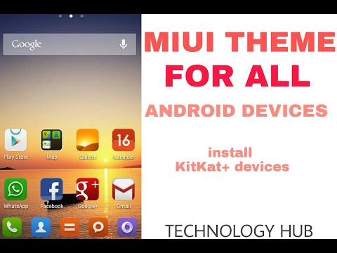 Download Miui Theme For All Android Devices KitKat + .. Must Install Simple Miui Theme